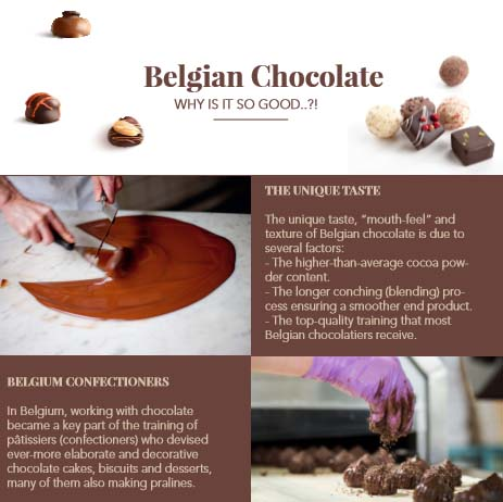 chocolate brochure design