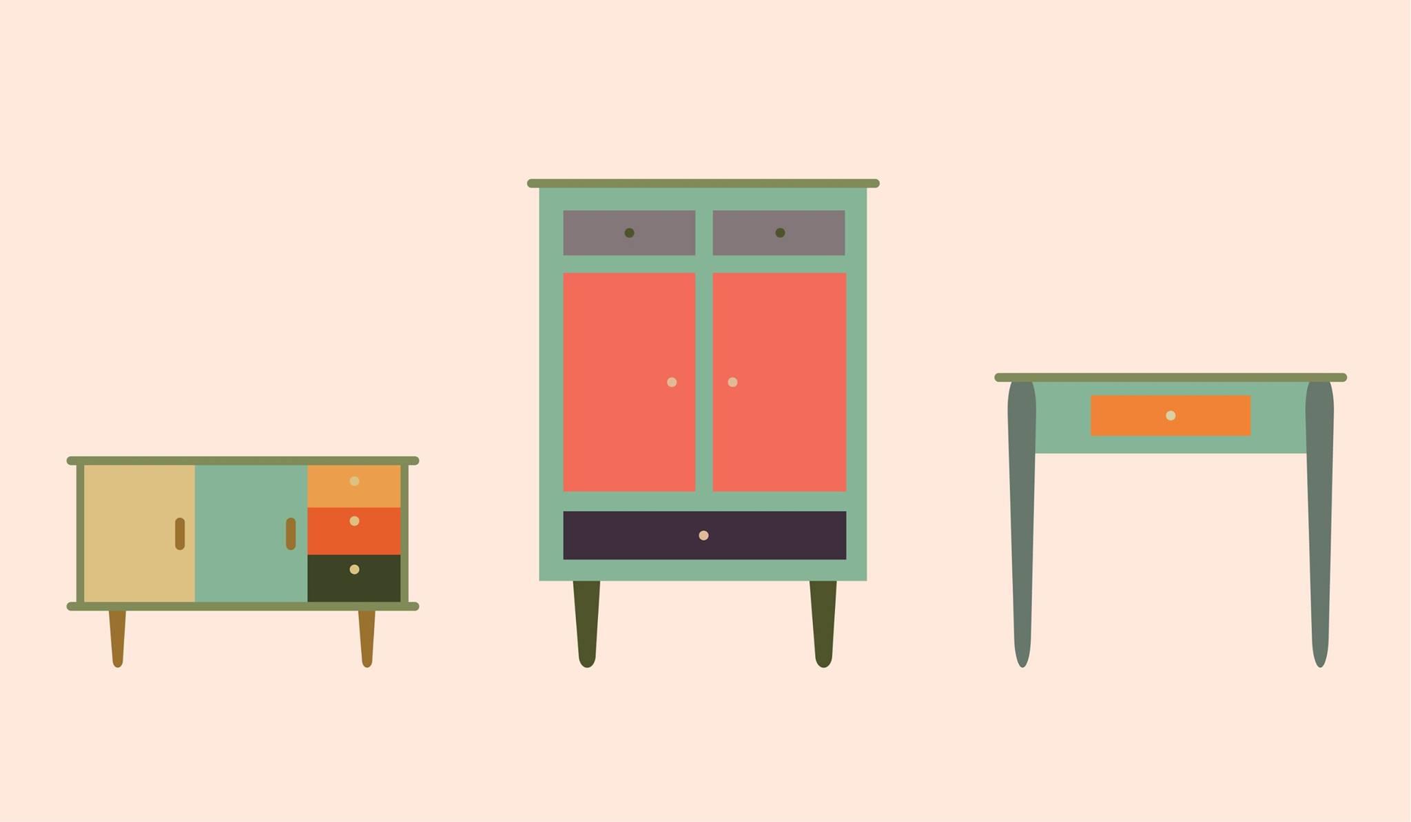 Vintage Shelves