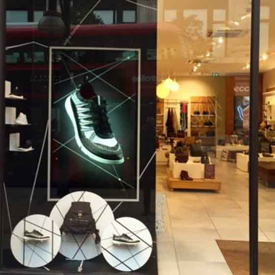 ECCO window display design