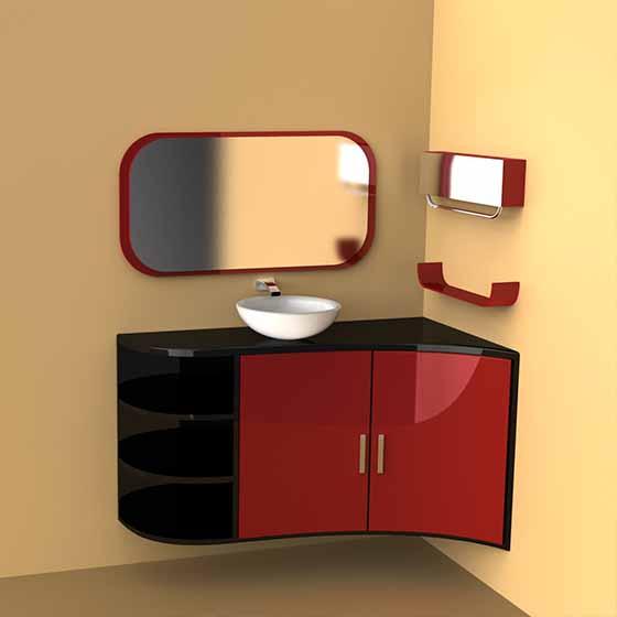 Corner wash design