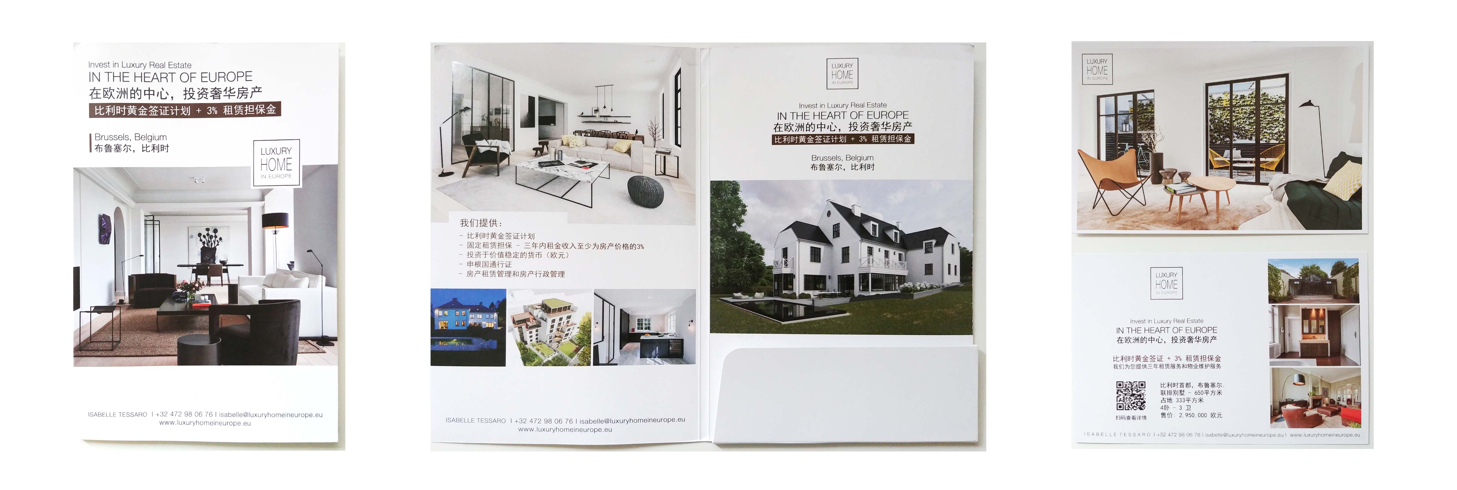 Luxury Home in Europe Brochure