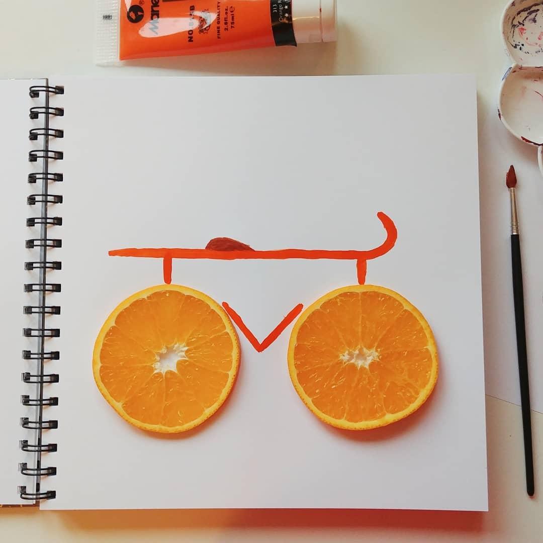 Orange Bike