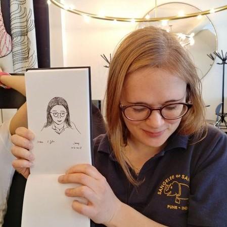 10-min portrait by Jenny